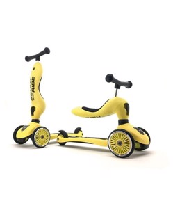 Trottinette 2 en 1 Scoot and Ride | Citron