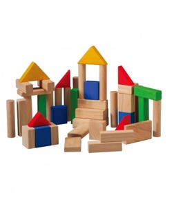 Blocs de construction en bois ecolo Plantoys multi ManiPani