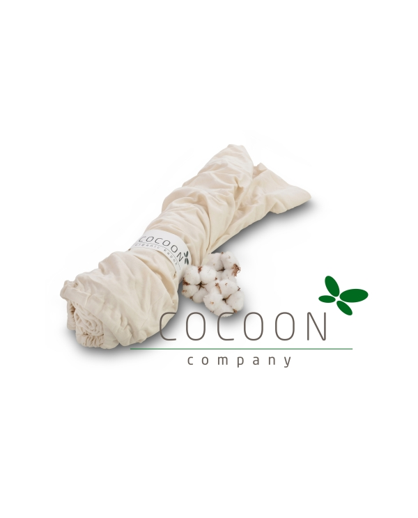 Draps housse coton bio cocoon b b junior for Drap housse coton bio 90x200