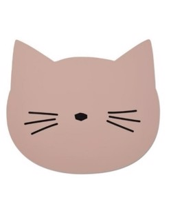 Napperon silicone Liewood | Chat rose