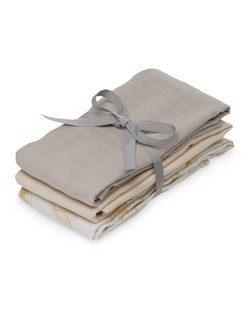 Pack 3 langes coton CamCam | Inventions, Noisette, Sable