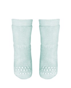 Chaussettes antidérapantes GoBabyGo | Vert menthe