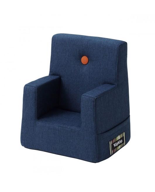 petit fauteuil bleu marine byklipklap chaise luxe b b manipani. Black Bedroom Furniture Sets. Home Design Ideas