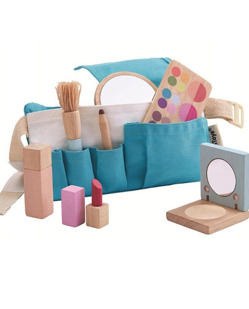 Trousse de maquillage enfant en bois naturel Plantoys Manipani
