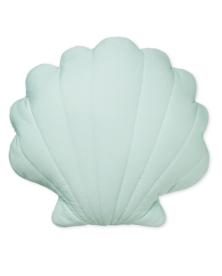 Coussin coquillage Camcam | Vert menthe
