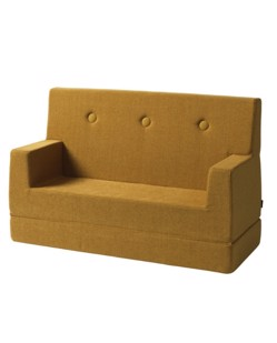 Sofa lounge 2 en 1 enfant KlipKlap | Moutarde