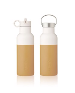 Gourde isotherme enfant Neo 500 ml Liewood | Mustard/sandy mix | Manipani boutique enfant scandinave