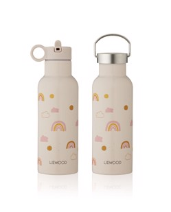 Gourde isotherme enfant Neo 500 ml Liewood | Rainbow love mix Manipani