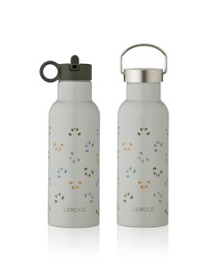 Gourde isotherme enfant Neo 500 ml Liewood |  Panda dove blue | Manipani design scandinave