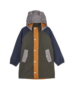 Imperméable long enfant Blake Liewood Hunter green multi mix Manipani