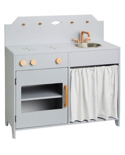 Kitchenette en bois CamCam | Gris