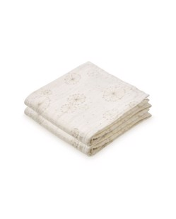 Pack de 2 langes coton CamCam | Dandelion naturel