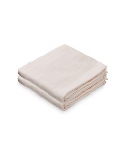 Pack de 2 langes coton CamCam | Rose poudré