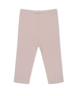 Pantalon coton bio Minnie Konges Sløjd | Rose Grey | Manipani boutique naissance