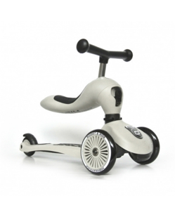 Trottinette 2 en 1 Scoot and Ride | Gris clair