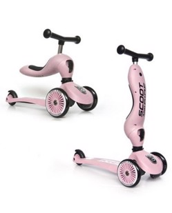 Trottinette 2 en 1 Scoot and Ride | Rose
