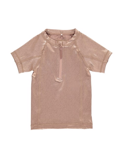 T-shirt de bain Anti-uv MarMar | Rose doré