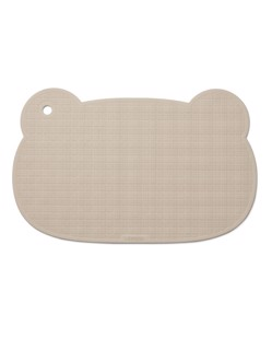 Tapis de bain en caoutchouc naturel Sailor Liewood | Mr bear sandy | Manipani bain bébé écologique durable naturel