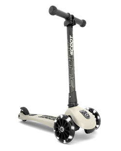 Trottinette pliable Scoot and Ride HK3 | Gris clair