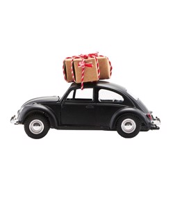 Voiture décorative de Noël House Doctor | Noir | Manipani Noël Scandinave